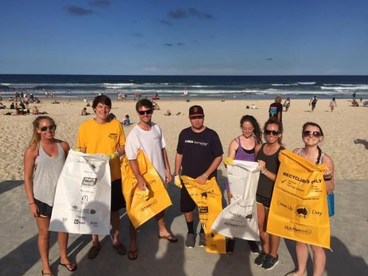 mackenzie student spotlight beach clean up