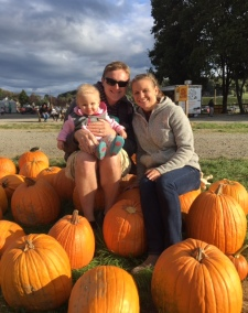 Heather, Mike, and their daughter, Cora