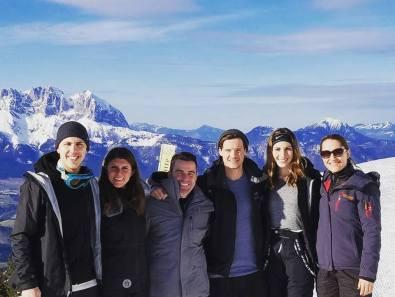 Arnold, Rachel, Shawn, Laurence, Carrie and Laurenin the Austrian AlpsAustria